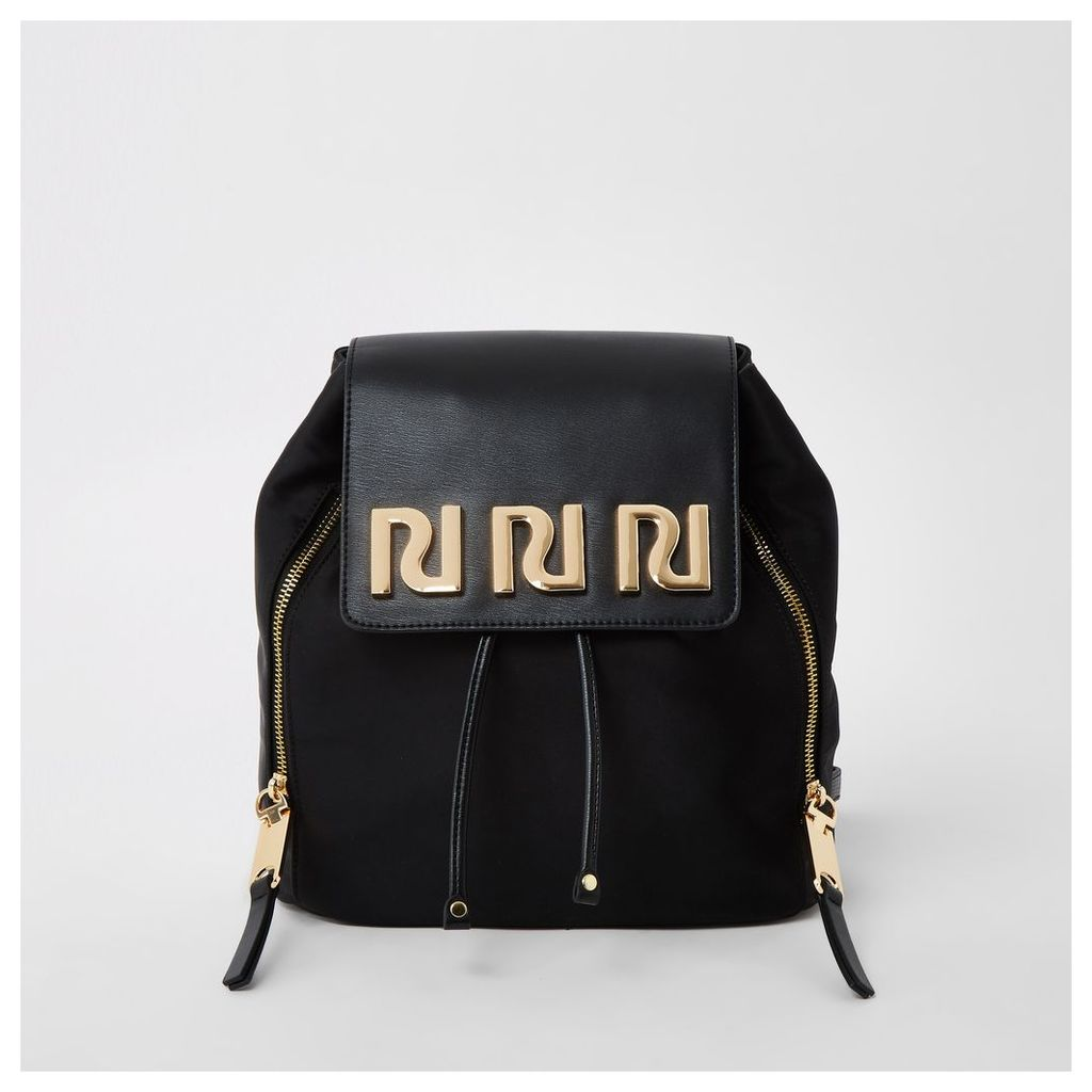 Womens Black RI backpack