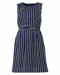 Izabel London Curve Striped Midi Dress