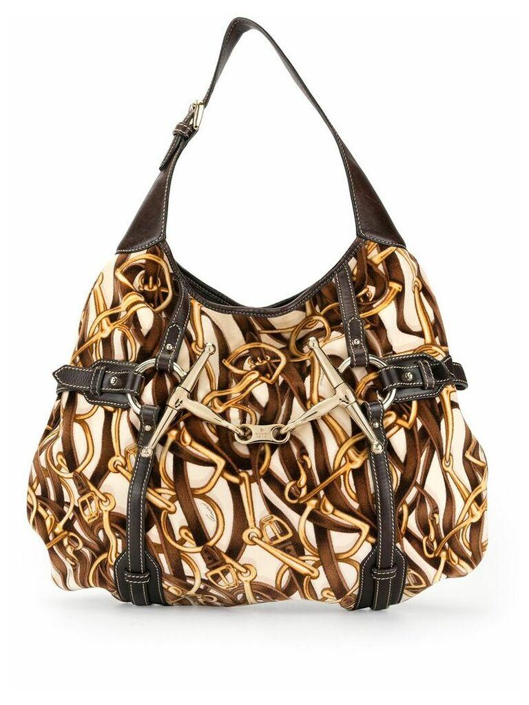Gucci Vintage 85th anniversary hobo bag - Brown