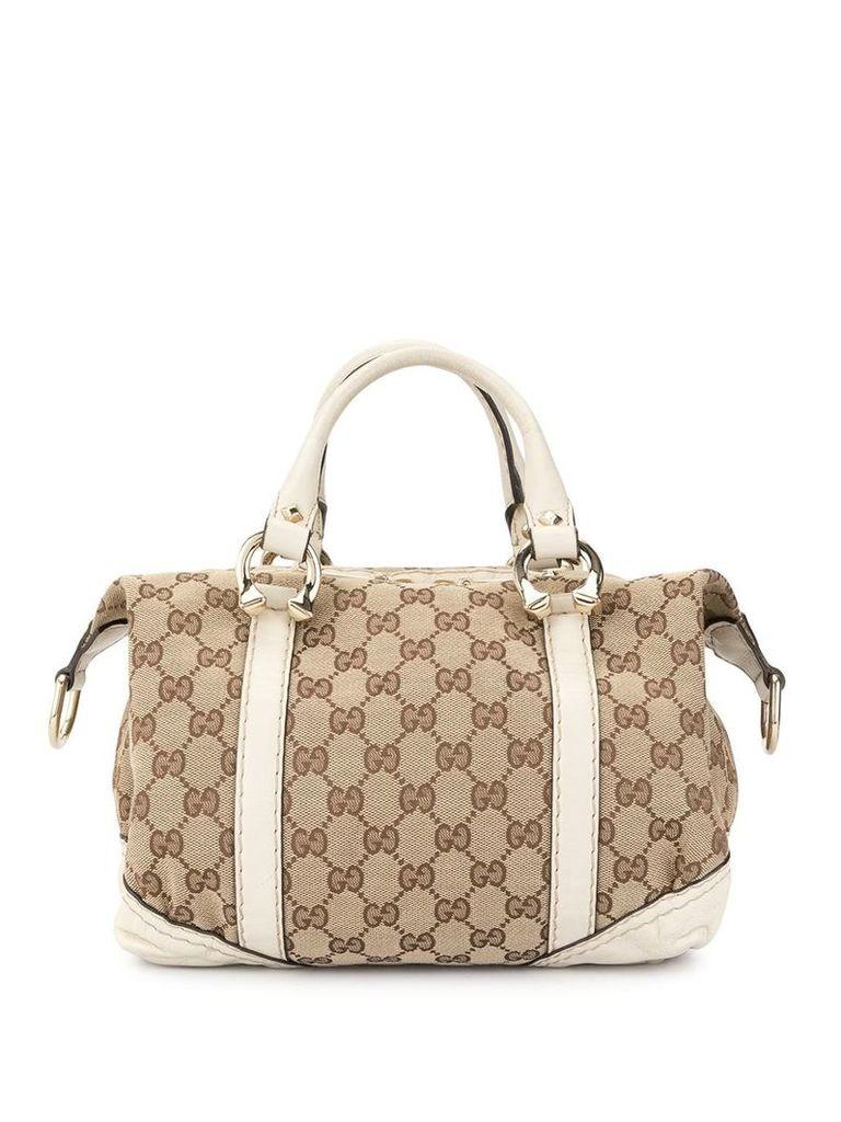 Gucci Vintage Guccissima Boston bag - Brown
