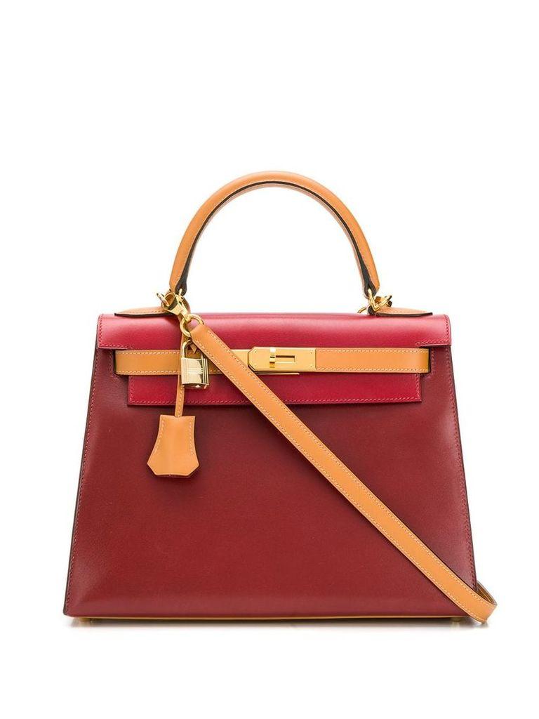 Hermès Vintage 28cm Kelly Sellier bag - Red