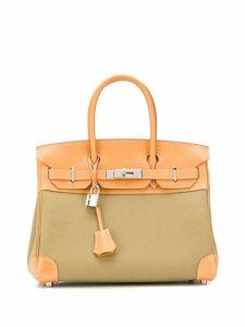 Hermès Pre-Owned 28cm Birkin bag - Green