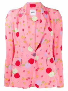 Moschino Pre-Owned 2000 floral print jacket - Pink