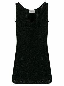 EMANUEL UNGARO PRE-OWNED 2000's glittery mini dress - Black