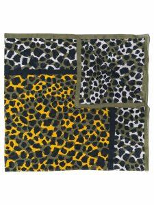 Yves Saint Laurent Pre-Owned 1990's animal print scarf - Green