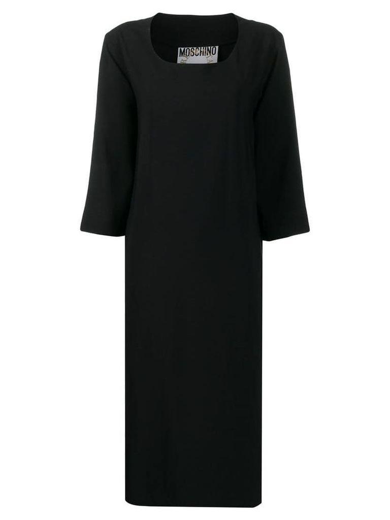 Moschino Vintage 1990's shift dress - Black
