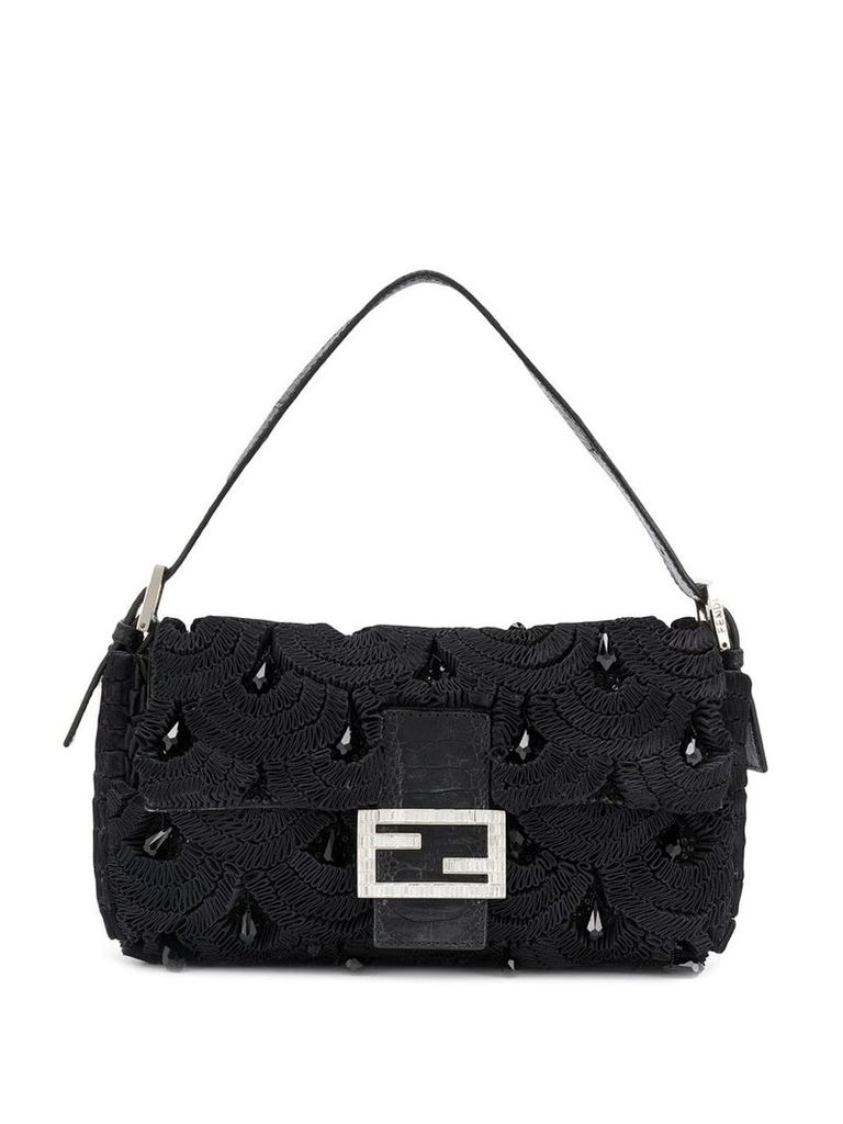 Fendi Vintage 2000's Baguette bag - Black