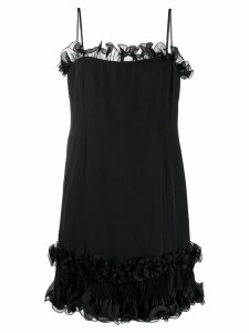 A.N.G.E.L.O. Vintage Cult 1980's Curiel Couture dress - Black
