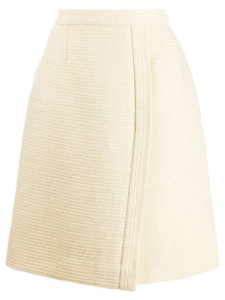Chanel Vintage 1980's wrap skirt - Neutrals