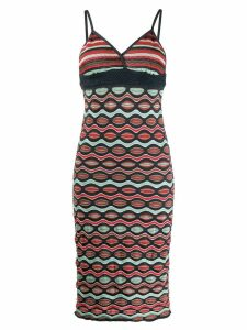 Missoni Pre-Owned 2000 zigzag patterned dress - Blue