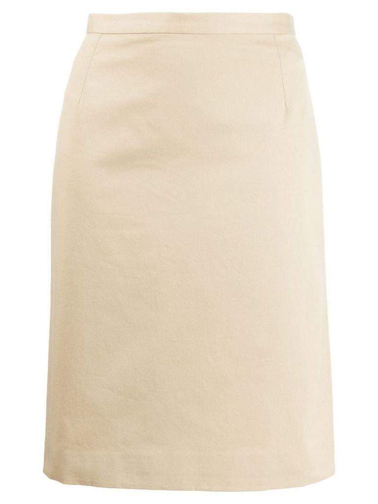 Dolce & Gabbana Vintage 1990's straight skirt - Neutrals