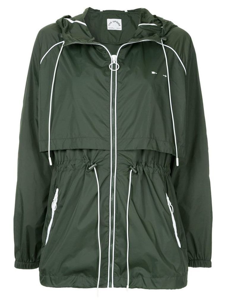 The Upside layered parka - Green