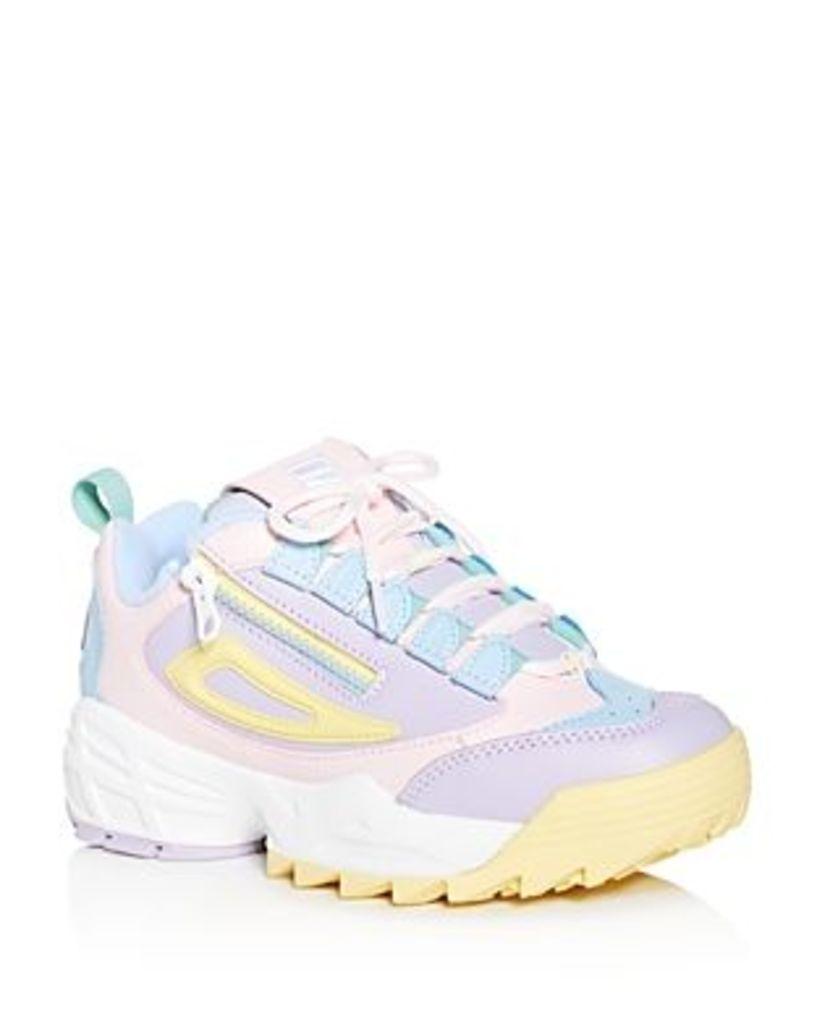 Fila Women's Disruptor 3 Zip Low-Top Sneakers