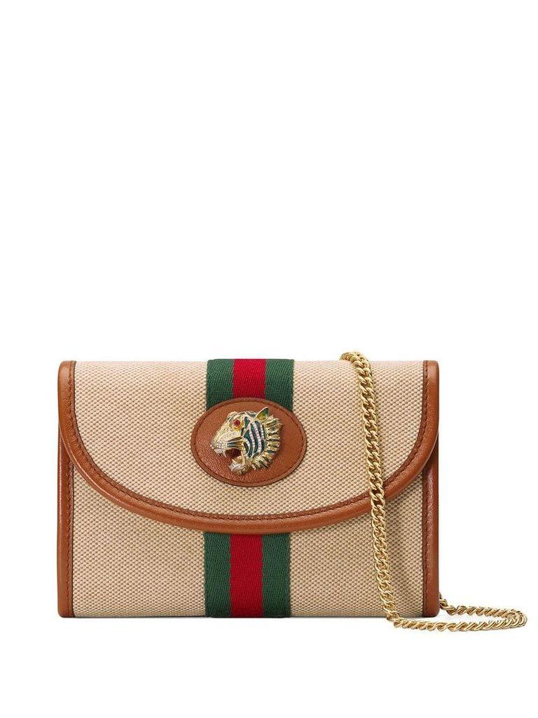 Gucci Rajah mini bag - Brown