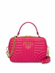 Prada Diagramme small shoulder bag - Pink