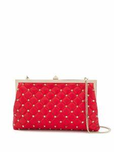 Valentino Rockstud clutch bag - Red