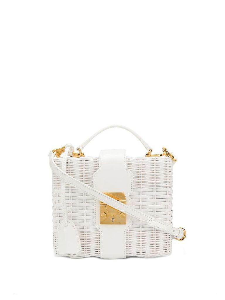 Mark Cross Box bag - White