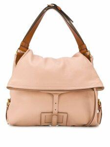 Maison Margiela logo patch shoulder bag - Pink