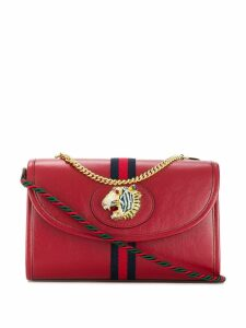 Gucci Rajah motif shoulder bag - Red