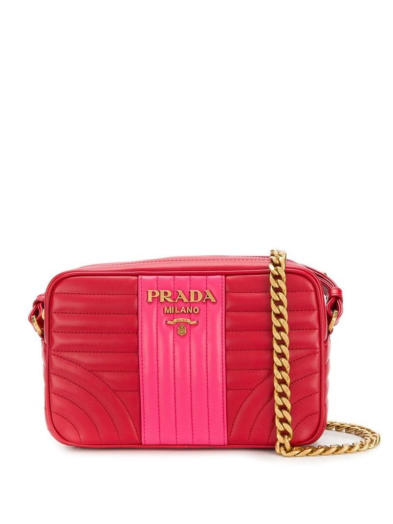 Prada Diagramme shoulder bag - Red