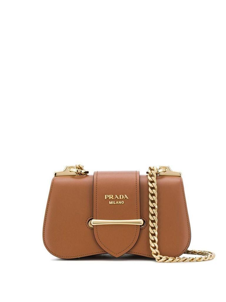 Prada Sidonie shoulder bag - Brown