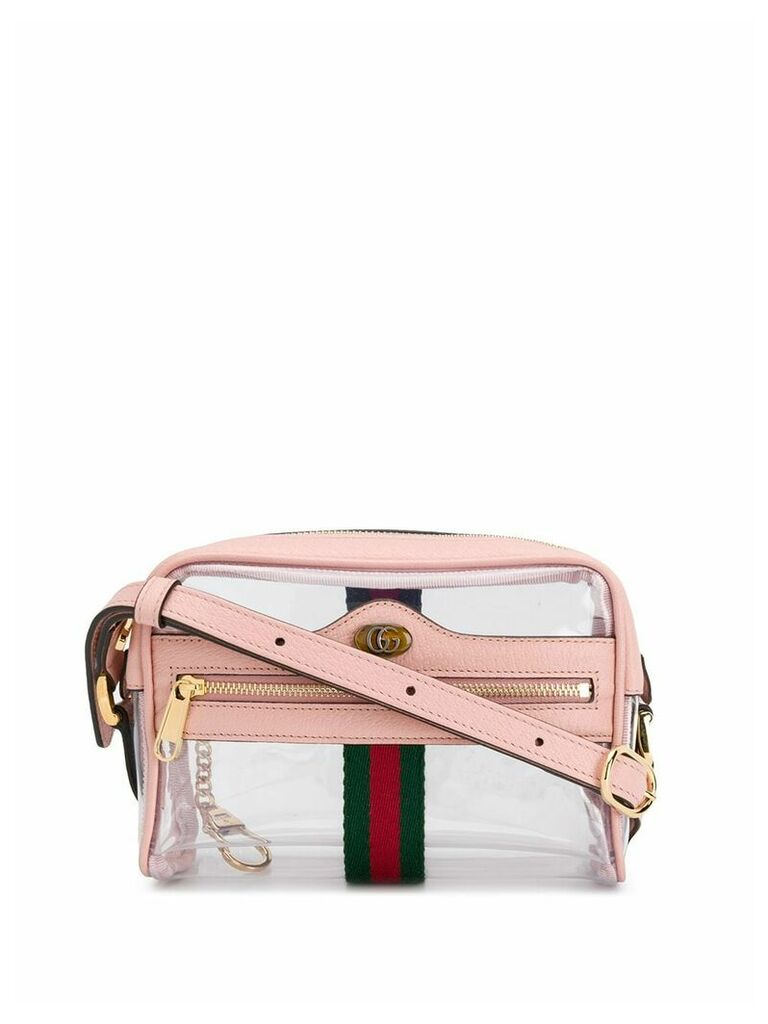 Gucci logo crossbody bag - Pink