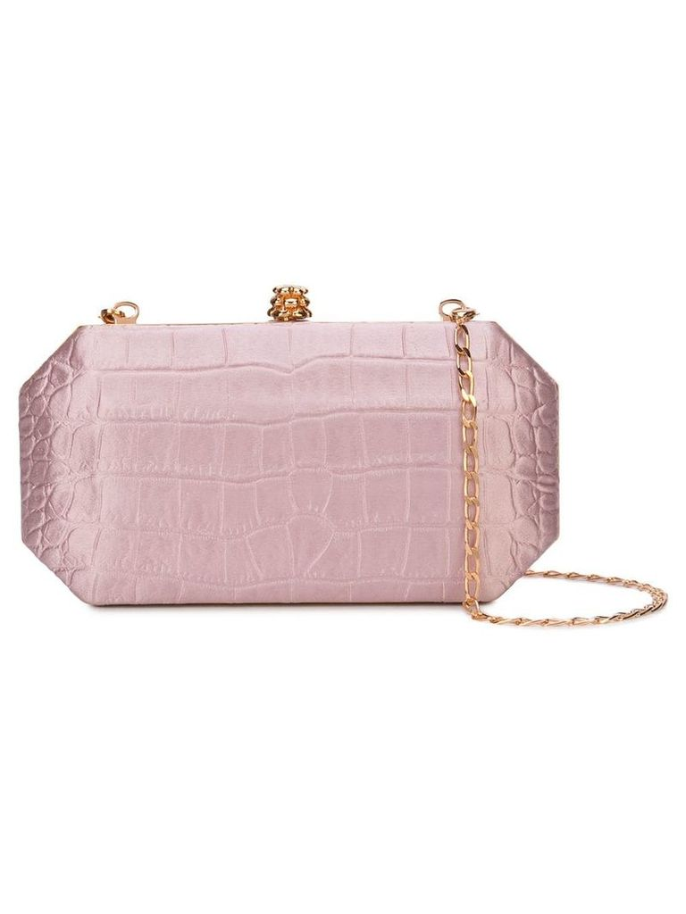 Tyler Ellis Perry clutch bag - Pink