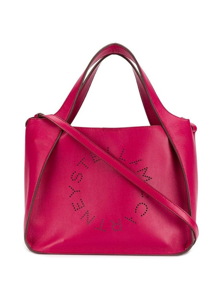 Stella McCartney logo tote bag - Pink
