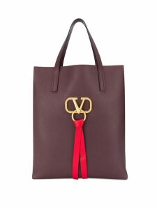 Valentino Valentino Garavani Vring logo tote bag - Red