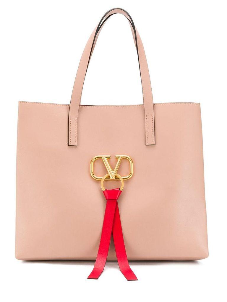 Valentino Vring logo tote bag - Pink