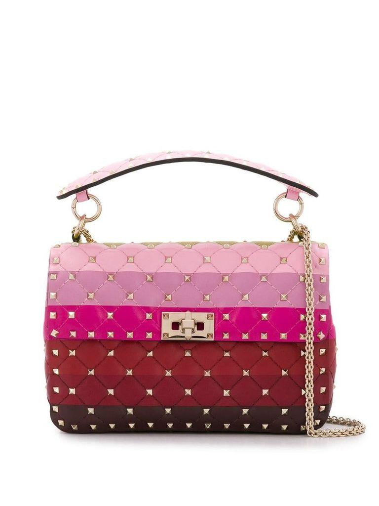 Valentino Rockstud Medium Spike shoulder bag - Pink