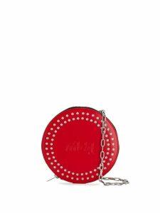 McQ Alexander McQueen round shaped crossbody bag - Red