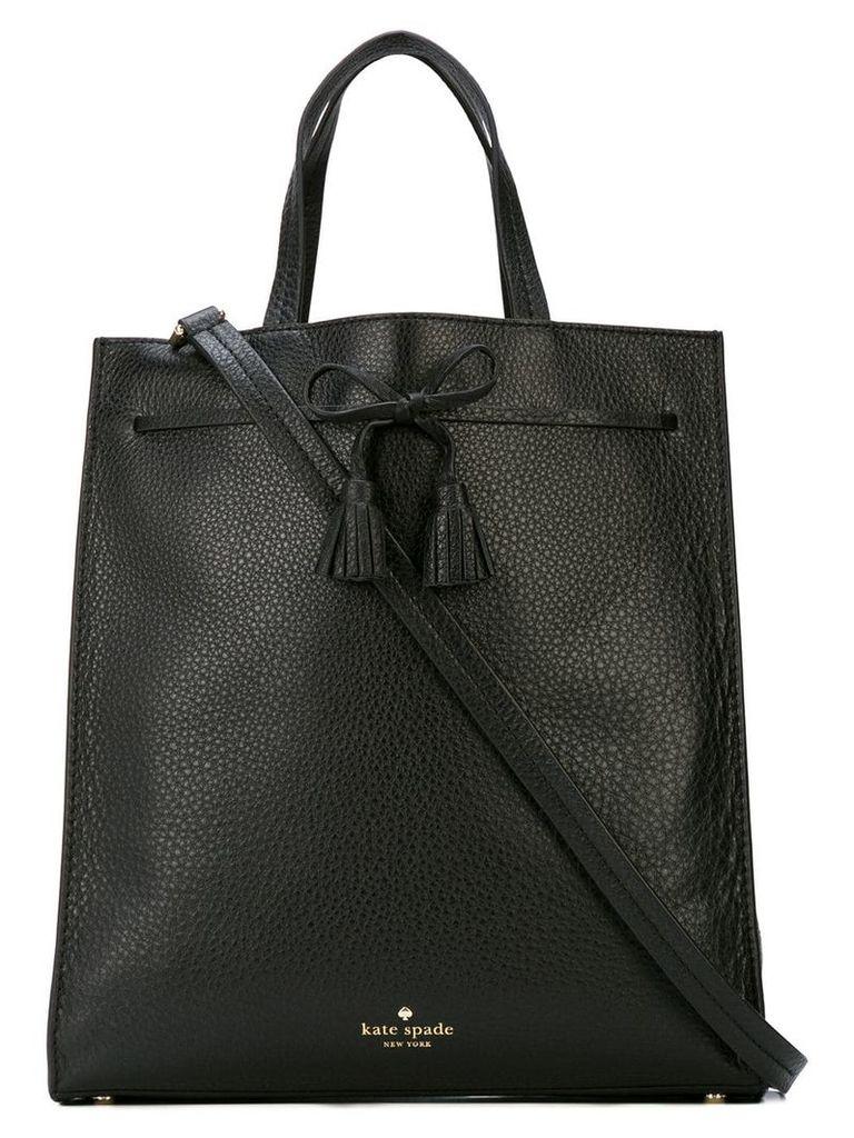 Kate Spade bow-embellished tote - Black