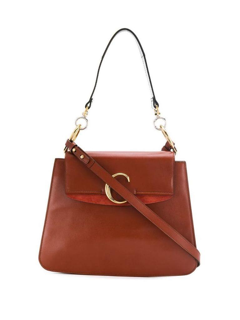 Chloé medium Chloé C shoulder bag - Brown