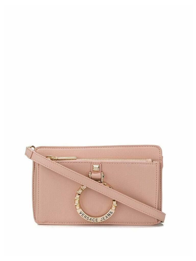 Versace Jeans logo cross-body bag - Pink