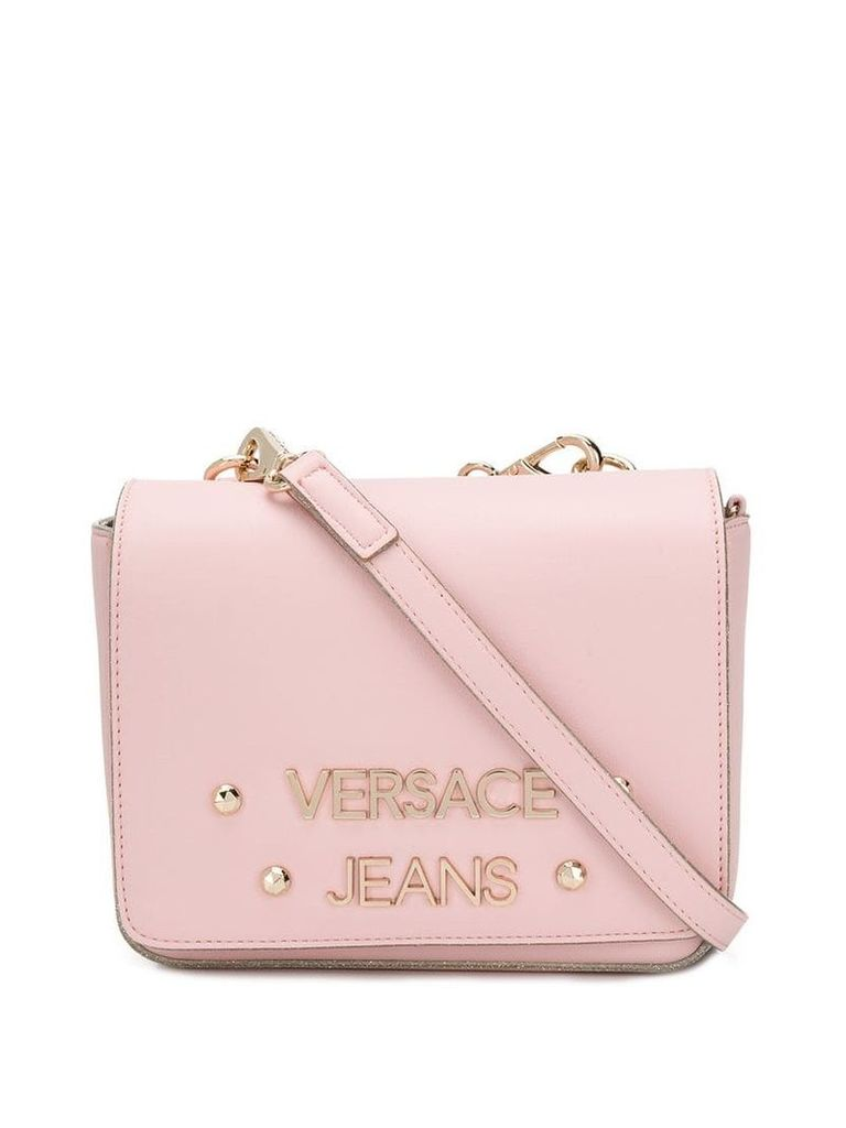 Versace Jeans logo cross-body bag - Pink