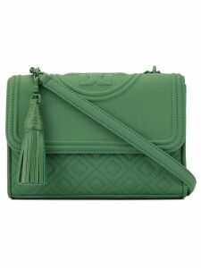 Tory Burch Fleming matte convertible shoulder bag - Green