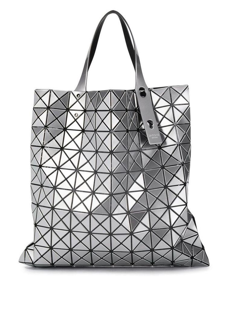 Bao Bao Issey Miyake geometric panel tote - Silver