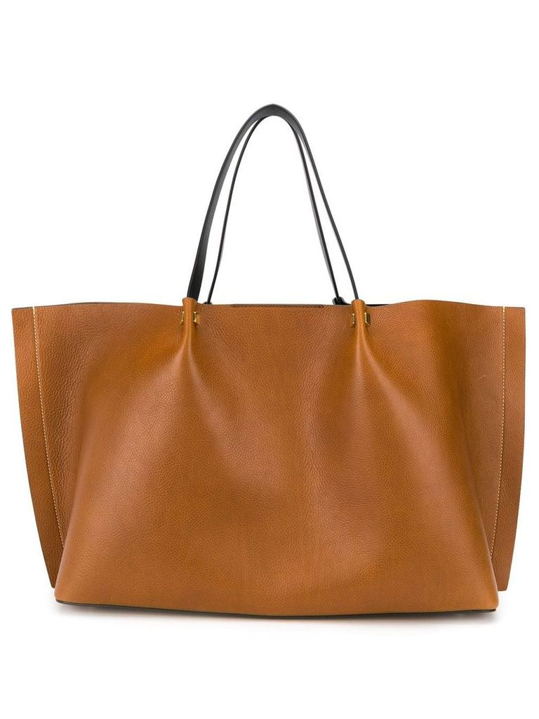 Valentino Valentino Garavani large VLogo Escape shopper - Brown