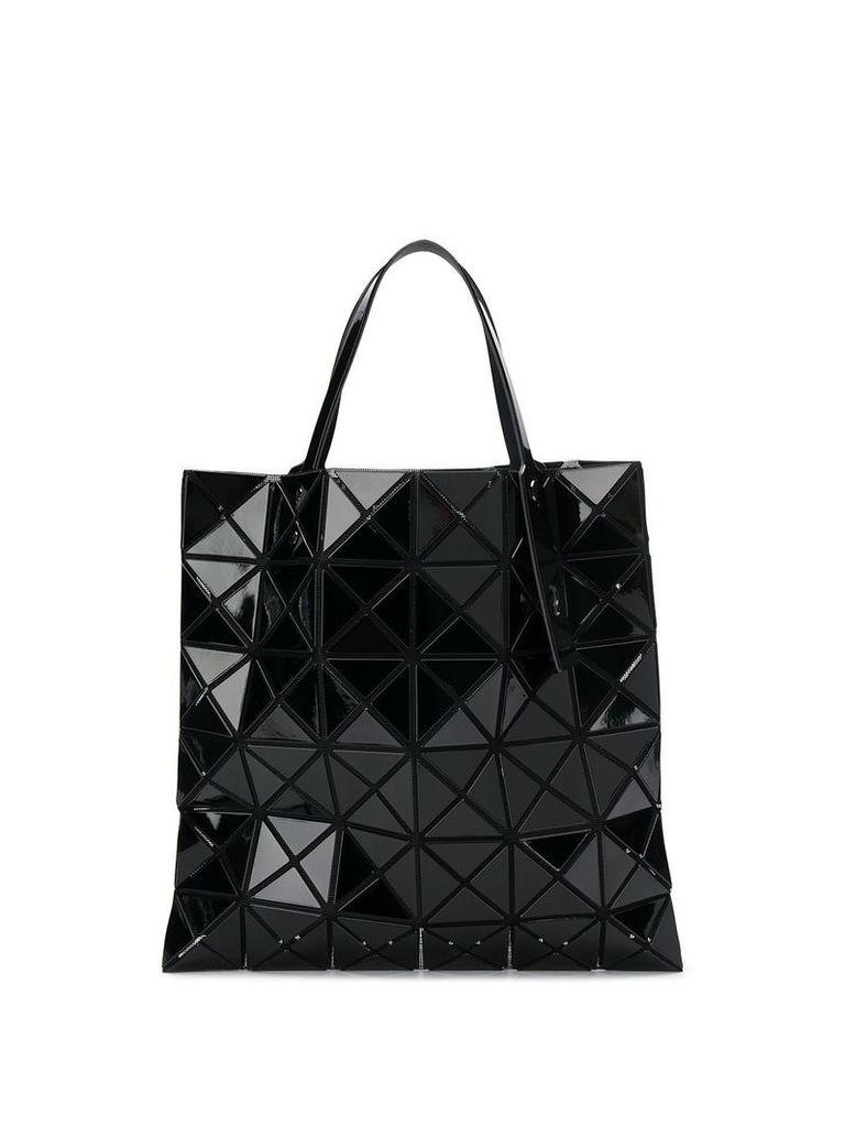 Bao Bao Issey Miyake geometric panel tote - Black