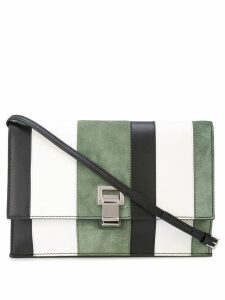 Proenza Schouler Colorblock Small Lunch Bag - White