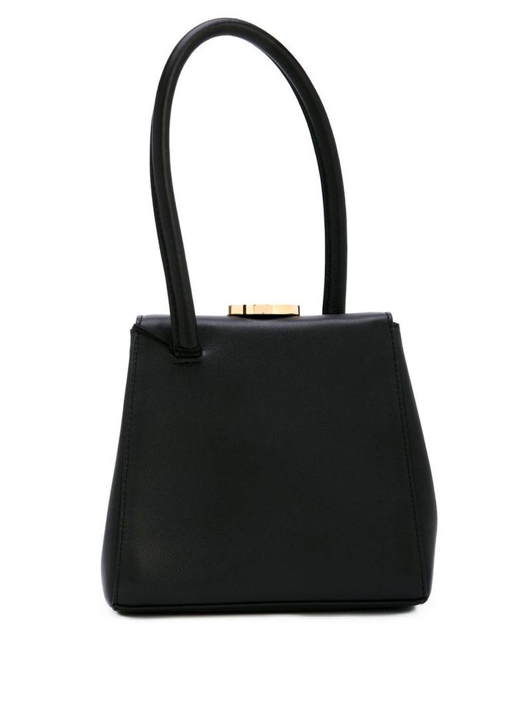 Little Liffner box tote bag - Black