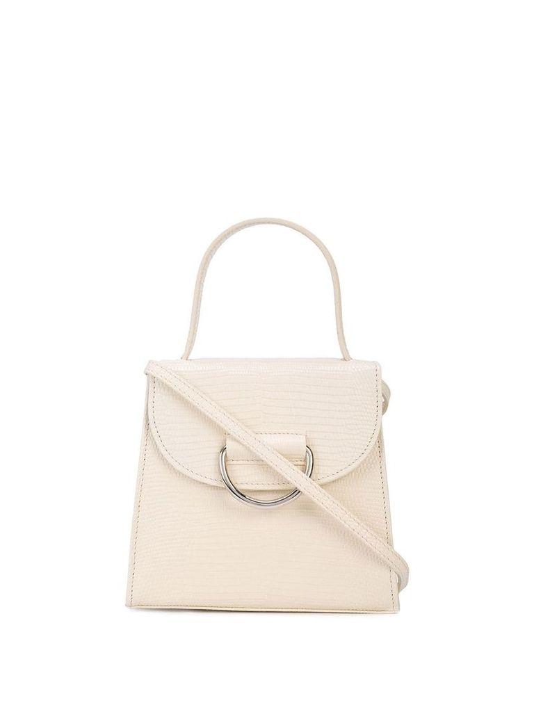 Little Liffner D-ring tote bag - White