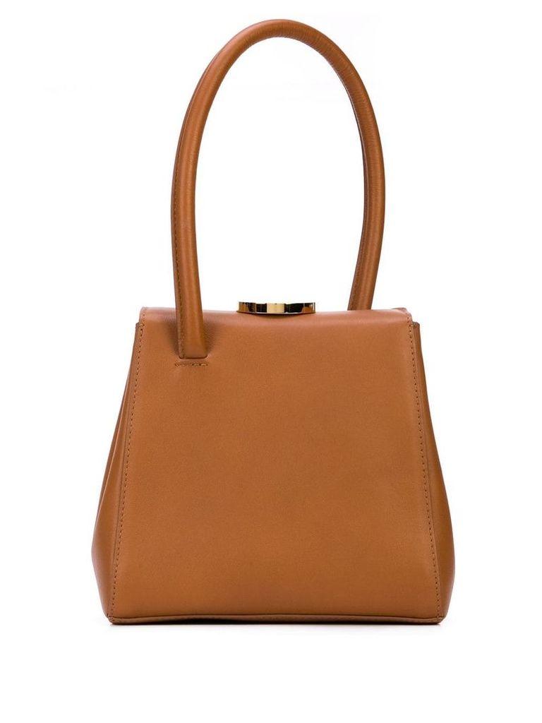 Little Liffner box tote bag - Brown