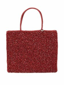 Anteprima standard medium wirebag tote - Red