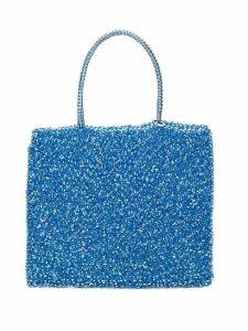 Anteprima standard medium wirebag tote - Blue