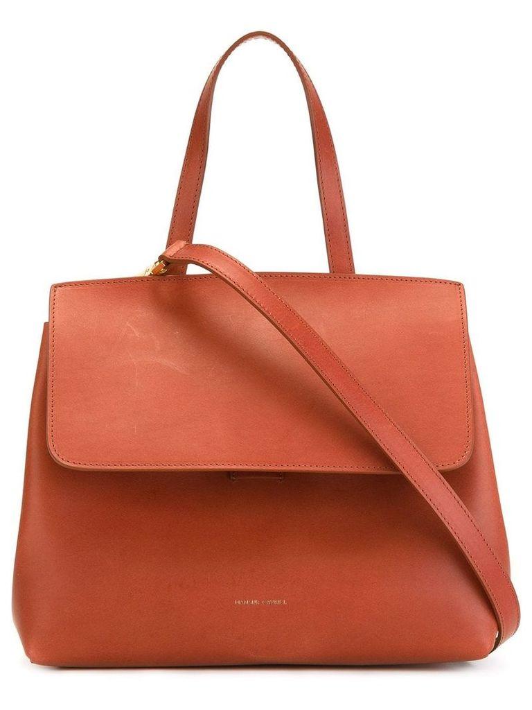 Mansur Gavriel Mini Lady bag - Brown