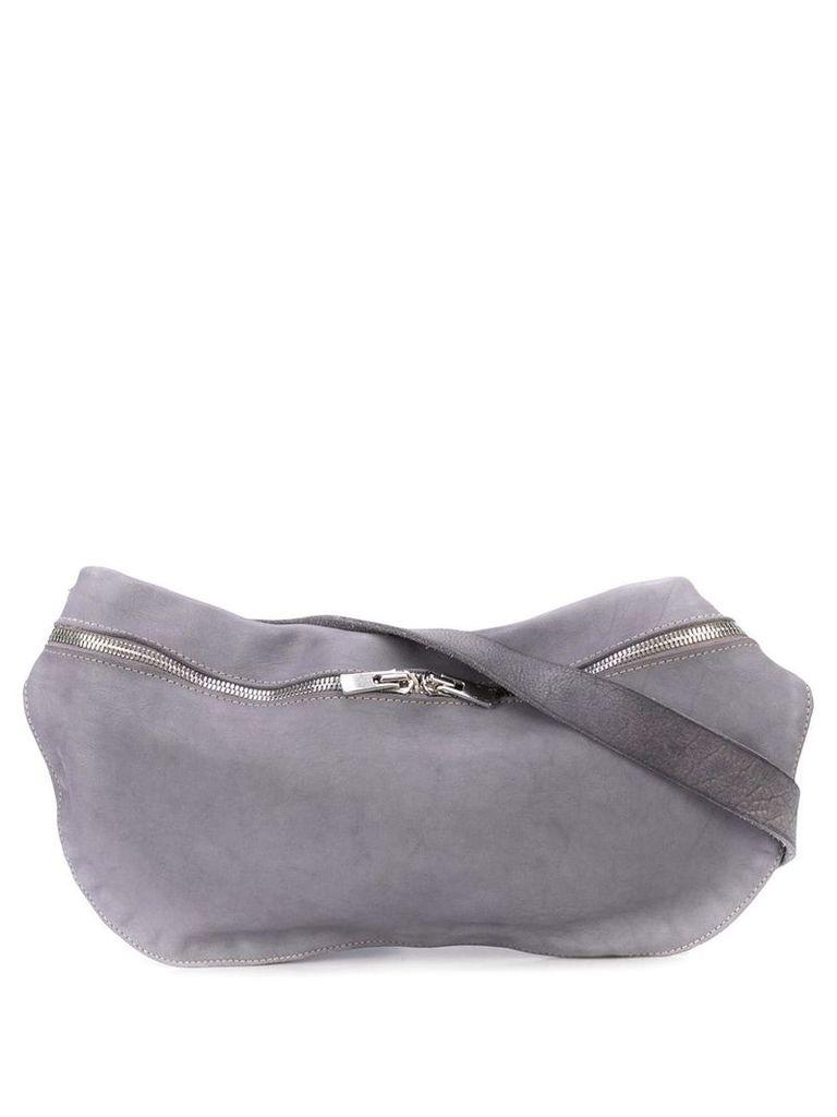 Guidi soft crossbody bag - Grey