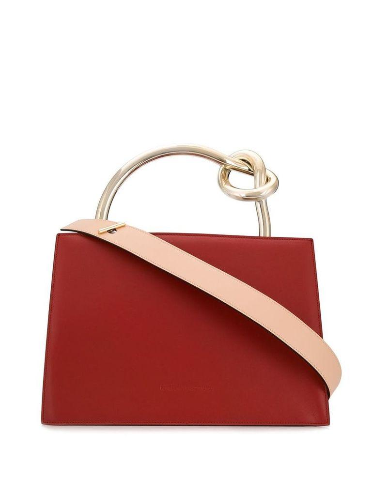 Benedetta Bruzziches leather tote bag - Neutrals