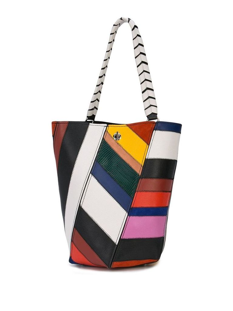 Proenza Schouler Patchwork Medium Hex Bucket Bag - Multicolour
